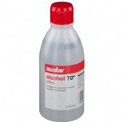 Alcohol 70º - acofar (1 frasco 250 ml)