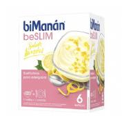 Bimanan beslim sustitutivo natilla (6 sobres 50 g sabor limon)