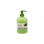 Acofarderm jabon de manos aceite de oliva (dosificador 500 ml)