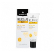 Heliocare 360º spf 50 fluido gel oil free - protector solar (1 envase 50 ml)