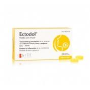 Ectodol pastillas para chupar (24 pastillas)