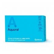Aquoral gotas humectantes c/ a hialuronico 0.4% (0.5 ml 20 monodosis)