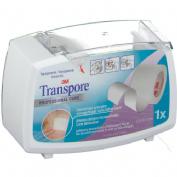Esparadrapo hipoalergico (Plastic portar 5 m x 2,5 cm)