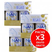 PACK DE 3 Nan supreme 2 (2 envases 800 g + gadget). Total 6 undiades
