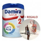 Damira natur 2 (1 bote 800 g)  + REGALOS (1 PORTA GEL +  1 SUJETA MASCARILLAS)