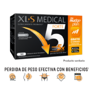 Xls medical forte x5 (180 capsulas)