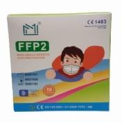 Mascarilla ffp2 infantil negra
