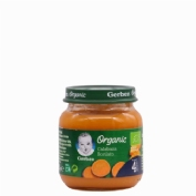 Gerber organic zanahoria boniato (1 tarrito 125 g)