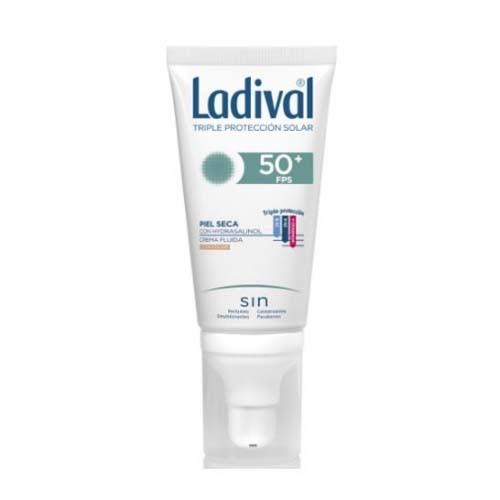 Ladival facial piel seca fps 50+ (1 envase 50 ml color)