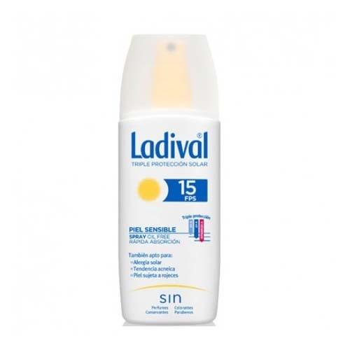 Ladival piel sensible spray fps 15 (1 envase 150 ml)