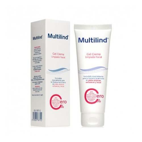 Multilind gel limpiador facial (1 tubo 125 ml)