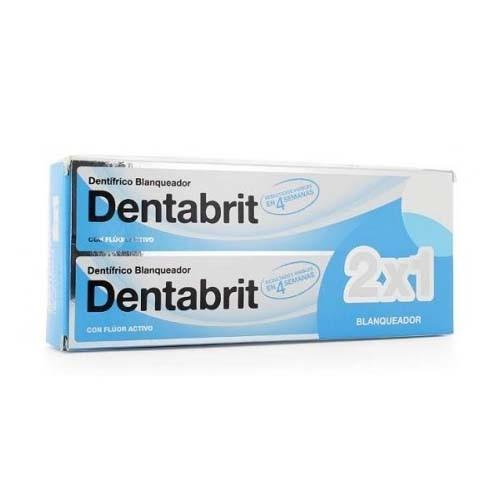 Dentabrit blanqueador (2 tubos 125 ml)