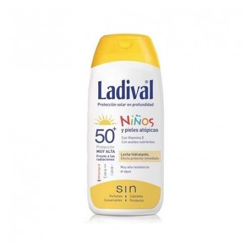 Ladival niños fotoprotector fps 50+ leche - fotoproteccion muyalta + after sun (2 envase 200 ml pack