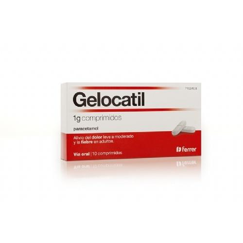 GELOCATIL 1 g COMPRIMIDOS,10 comprimidos