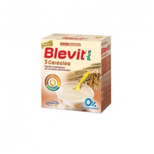 Blevit plus 5 cereales (600 g)