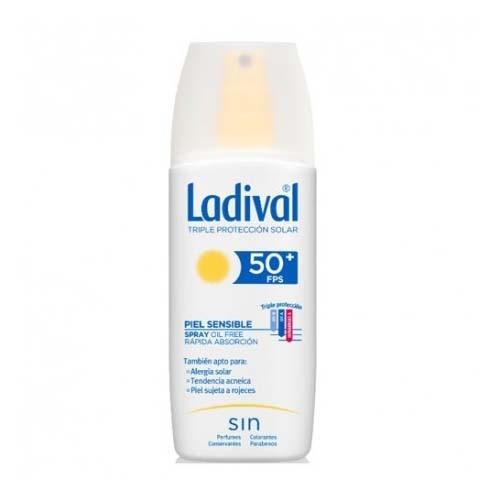 Ladival piel sensible spray fps 50+ (1 envase 150 ml)
