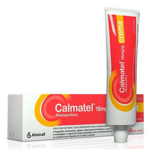 CALMATEL 18 mg/g CREMA , 1 tubo de 60 g