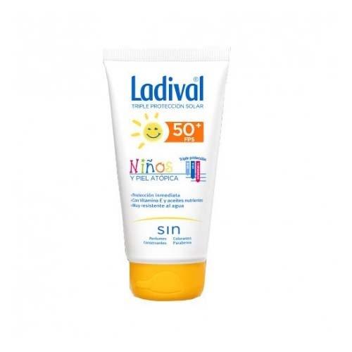 Ladival niños y piel atopica fps 50+ (1 envase 150 ml)