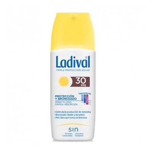 Ladival proteccion y bronceado fps 30 (1 envase 150 ml)