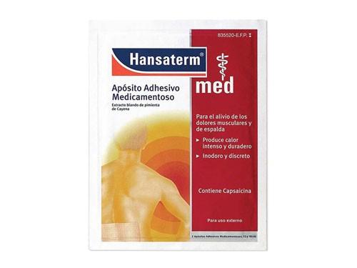HANSATERM 4,8 MG APÓSITO ADHESIVO MEDICAMENTOSO 2 apositos 12 x 18 cm