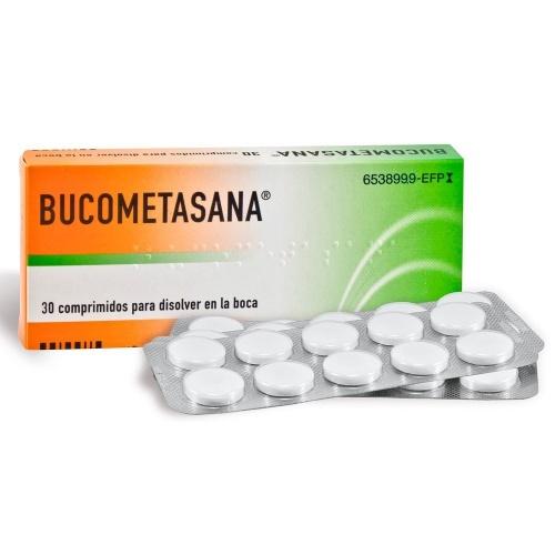 BUCOMETASANA COMPRIMIDOS PARA CHUPAR , 30 comprimidos