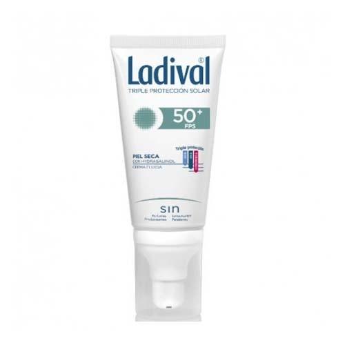 Ladival facial piel seca fps50+ (1 envase 50 ml)