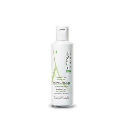 A-derma dermalibour+ gel limpiador (1 envase 250 ml)