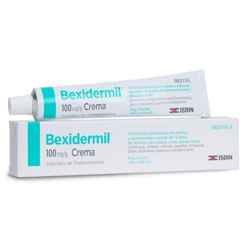 BEXIDERMIL 100 mg/g CREMA , 1 tubo de 50 g