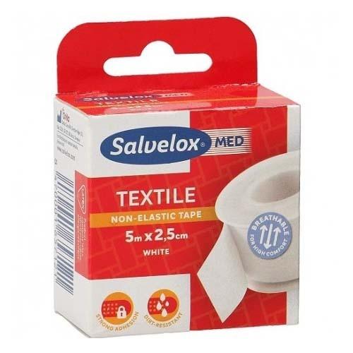Esparadrapo - salvelox (textil blanco 5 x 2.5)