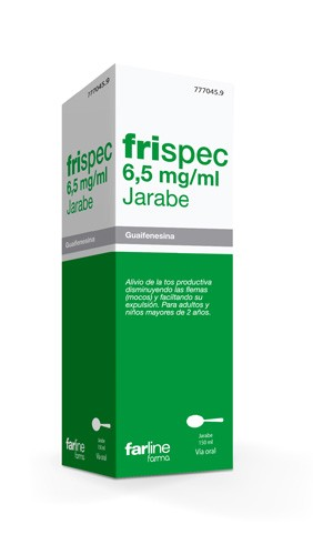 FRISPEC 6,5 mg/ml JARABE, 1 frasco de 150 ml