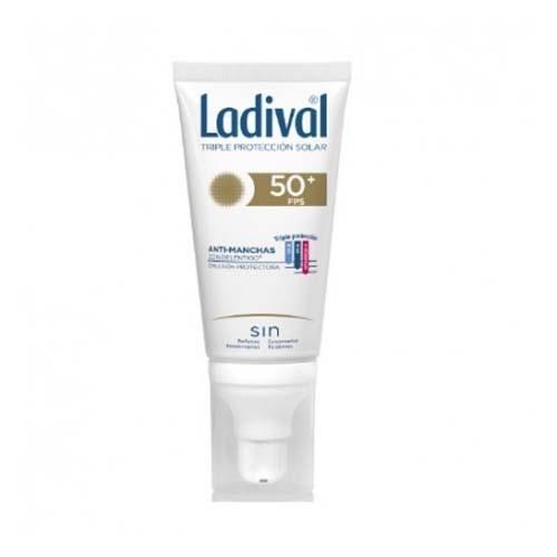 Ladival facial accion antimanchas con delentigo fps 50+ (1 envase 50 ml)