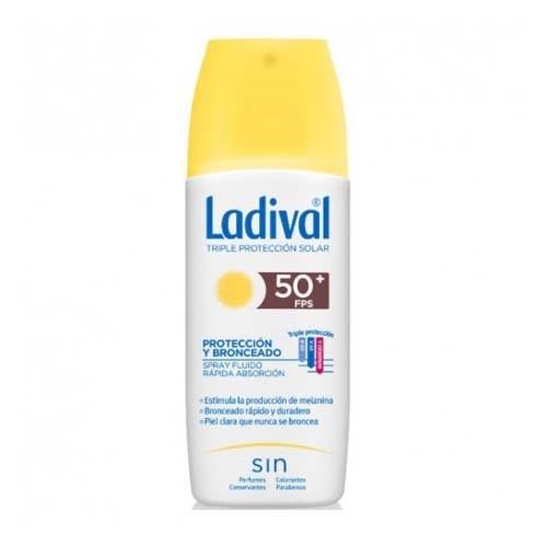 Ladival proteccion y bronceado fps 50+ (1 envase 150 ml)