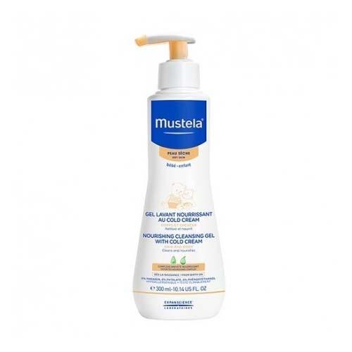 Mustela gel de baño nutritivo al cold cream - nutriprotector (1 envase 300 ml)
