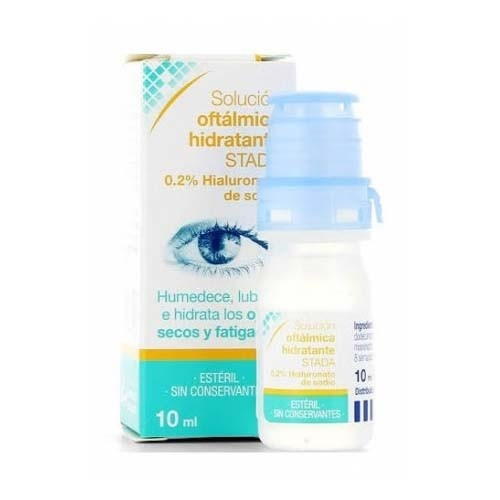 Care+ solucion oftalmica hidratante 0,2% (1 envase 10 ml)