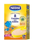 Nestle papilla 8 cereales galleta maria (600 g)