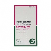 Paracetamol kern pharma efg 100 mg/ml solucion o