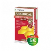Arkoreal jalea real + ginseng (20 ampollas 15 ml)