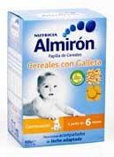 Almiron cereales con galletas 300 g x 2 u