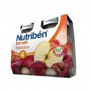 Nutriben zumo manzana (130 ml 2 u bipack)