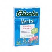 RICOLA CARAMELOS SIN AZUCAR MENTOL 50 G