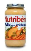 Nutriben pollo con verduras (Potito grandote 250 g)