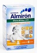 Almiron 8 cereales con miel bifidus 600g