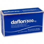 DAFLON 500 MG COMPRIMIDOS RECUBIERTOS CON PELICULA, 60 comprimidos