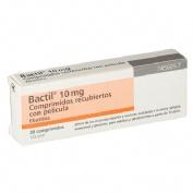 BACTIL 10 mg COMPRIMIDOS RECUBIERTOS CON PELICULA , 20 comprimidos
