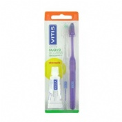 Cepillo dental adulto - vitis access (suave blister 2 u)
