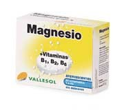 Vallesol magnesio +vitamina b (24 comp eferv)