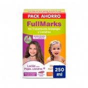 Fullmarks antipiojos y liendres champu + locion (Kit 100+150 ml)