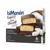 Bimanan pro barrita chocolate y coco (6 barritas)