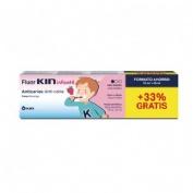Fluor kin infantil pasta dentifrica (1 envase 75 ml fresa)