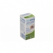 OPTIALERG 5 MG/ML + 0,25 MG/ML COLIRIO EN SOLUCION, 1 frasco de 10 ml